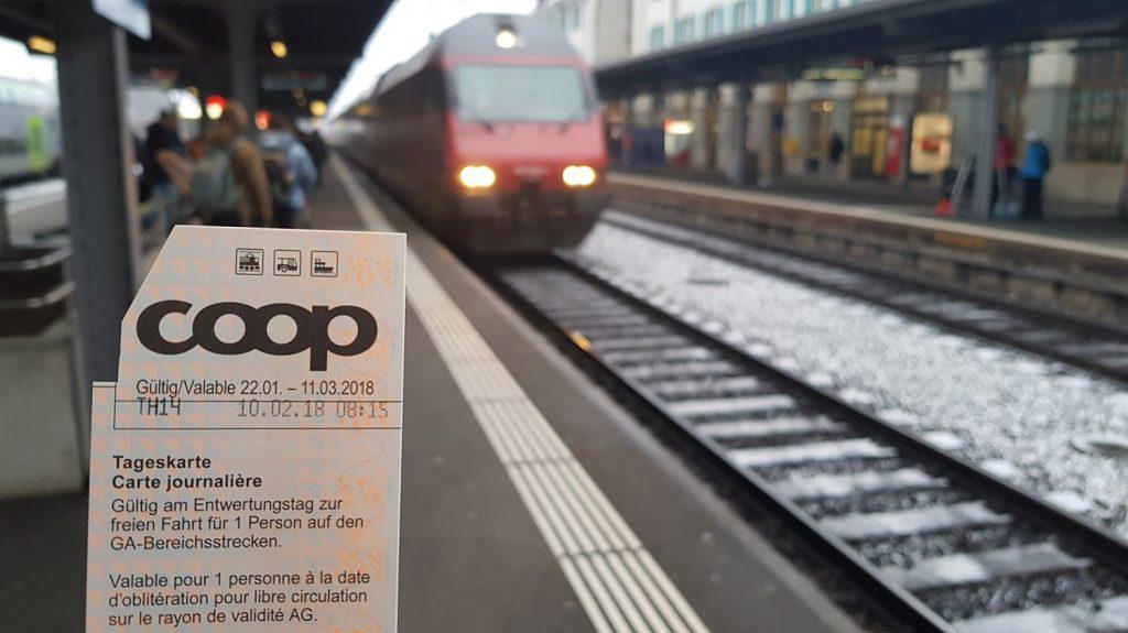 Coop Tageskarte SBB