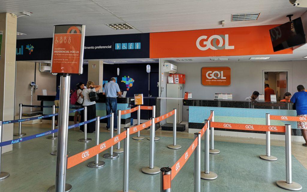 Noronha Airport Schalter