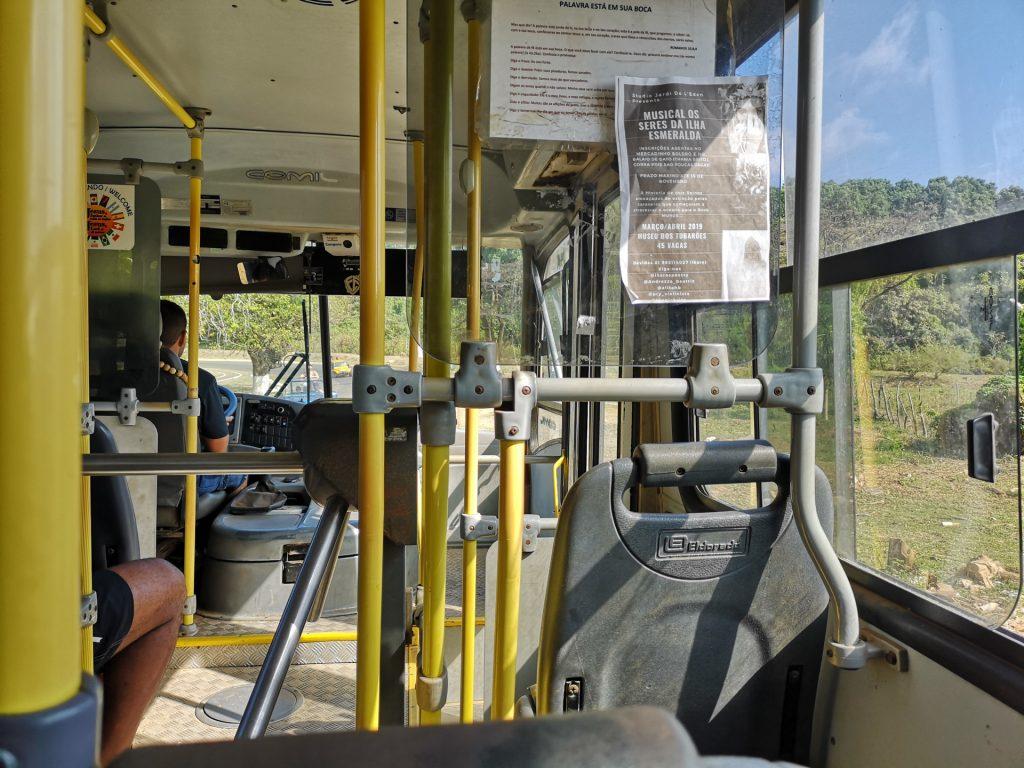 Noronha Bus innen