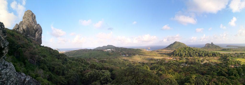 Noronha Trilha do Piquinho Panorama