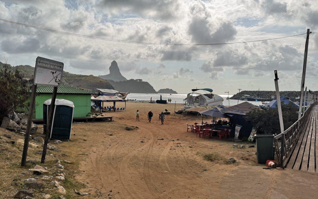 Noronha Hafen Strand 3
