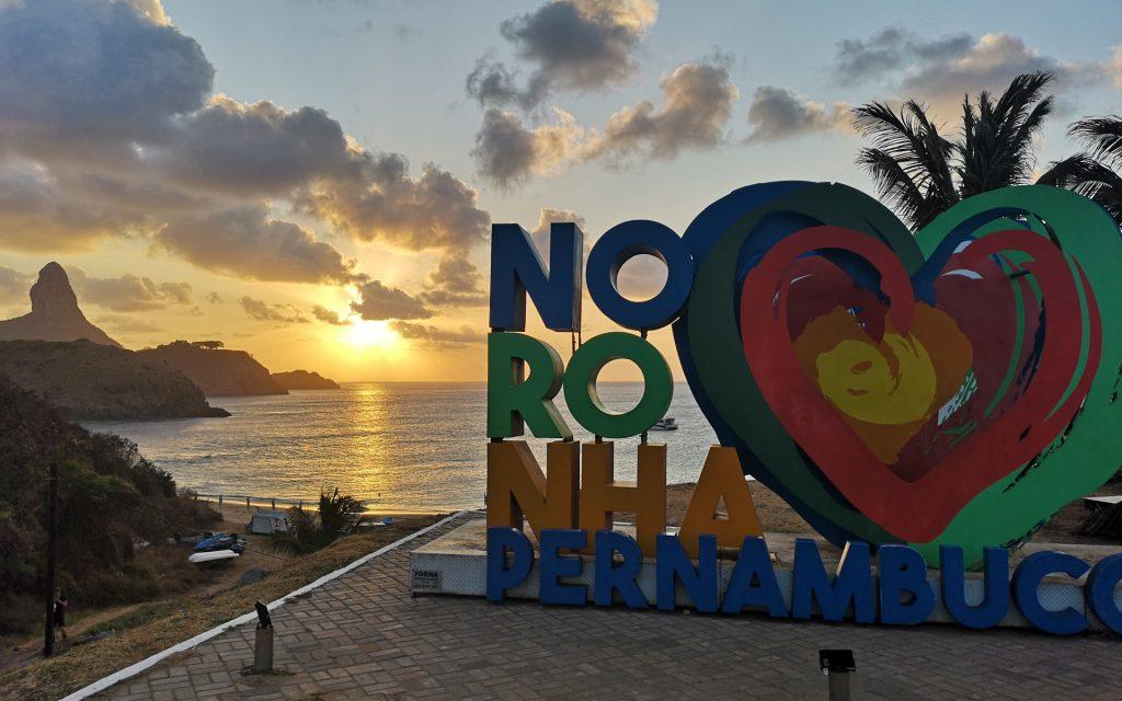 Noronha Sonnenuntergang Pernambuco