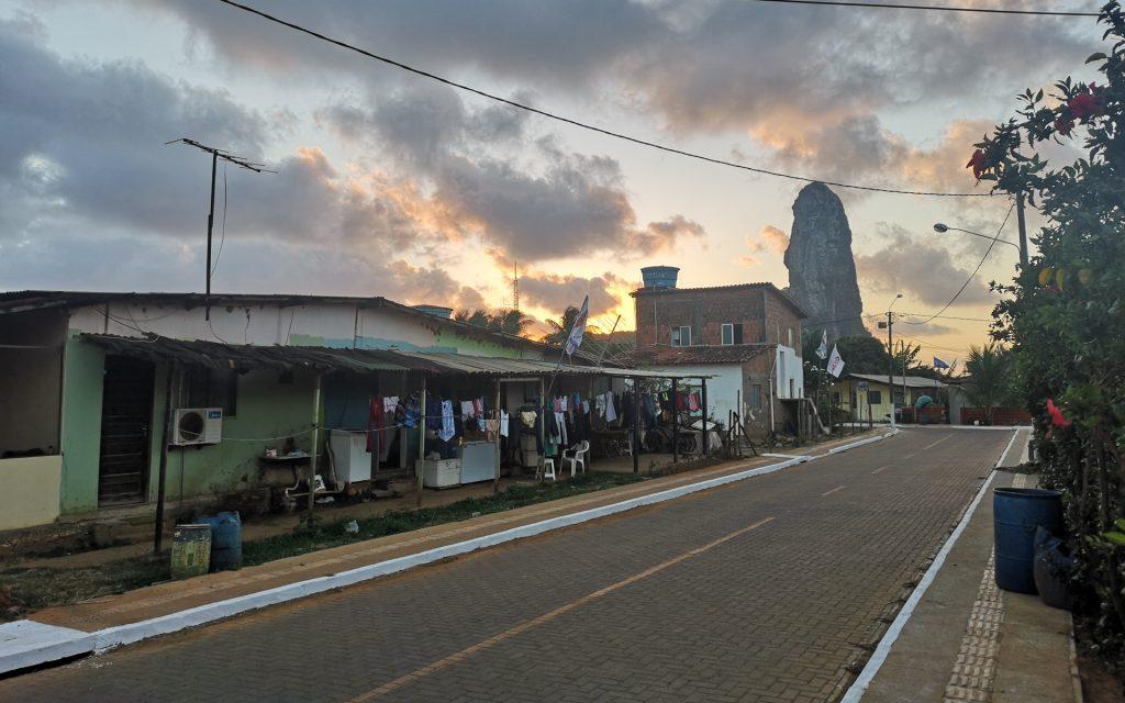 Noronha Vila dos Remedios Sonnenuntergang