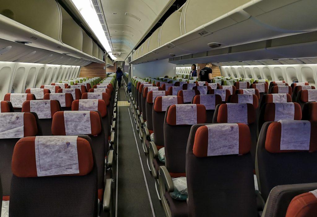 Latam Kabine Boeing 777