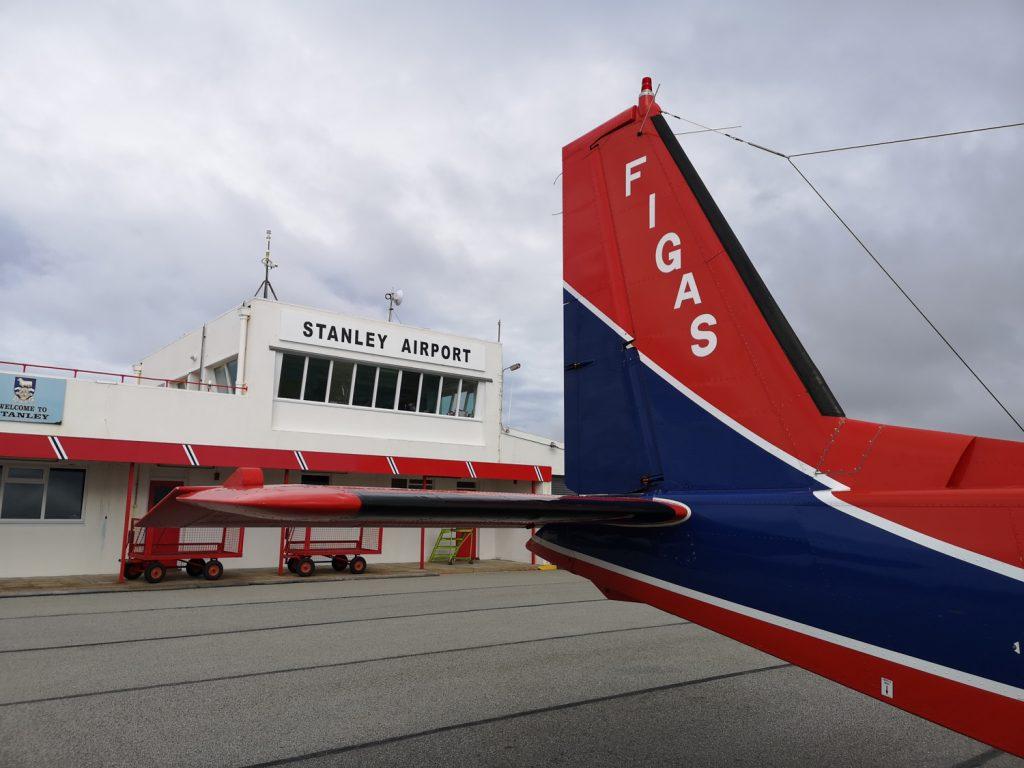 FIGAS Flughafen Stanley