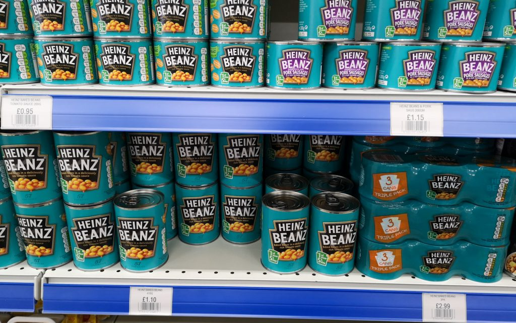 Baked Beans Supermarkt Falklandinseln