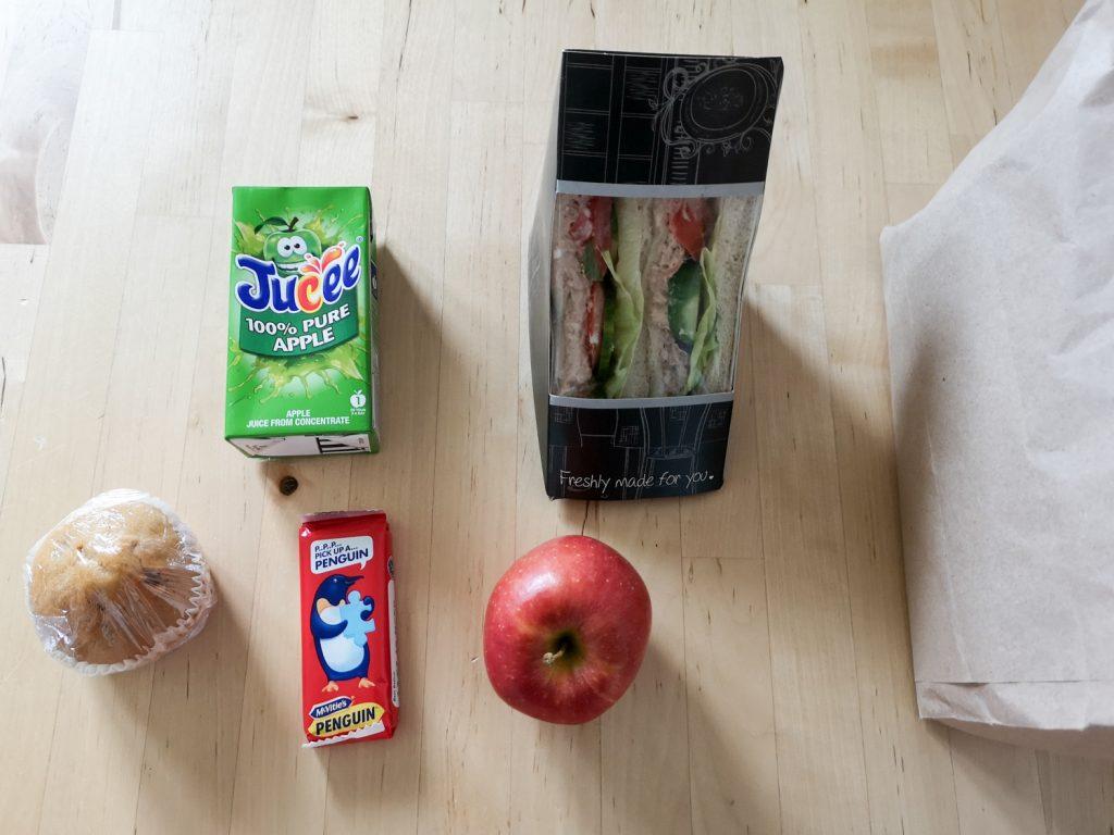 Lunchpaket Bleaker Island
